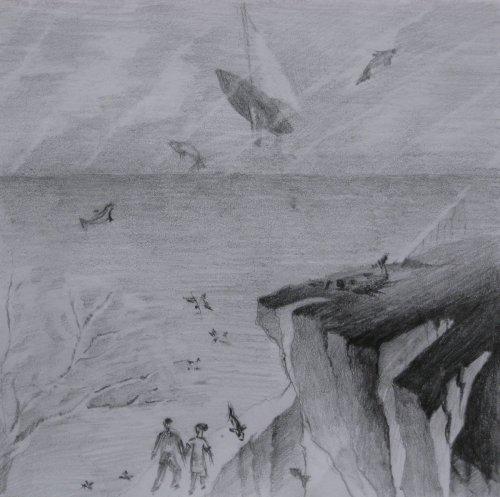 François Malespine dessins préparatoires 1 001