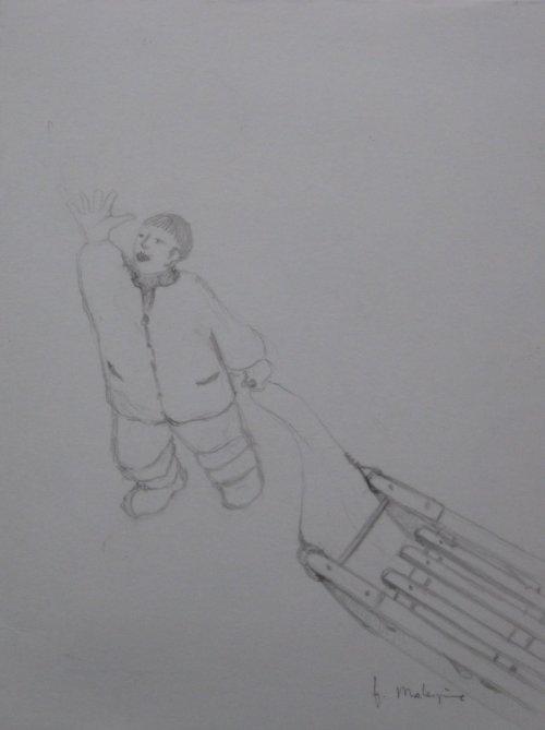 François Malespine dessins préparatoires 1 002