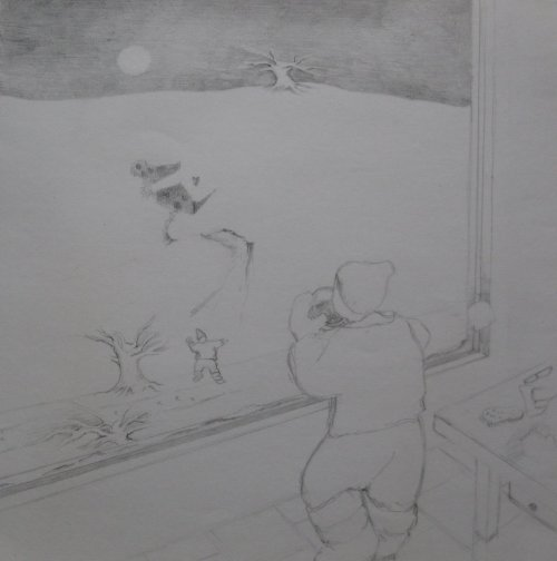François Malespine dessins préparatoires 1 005