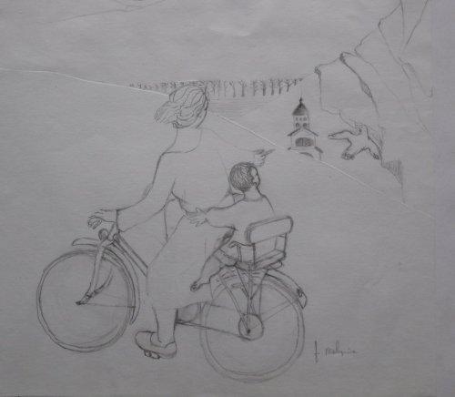 François Malespine dessins préparatoires 1 009