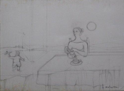 François Malespine dessins préparatoires 1 010