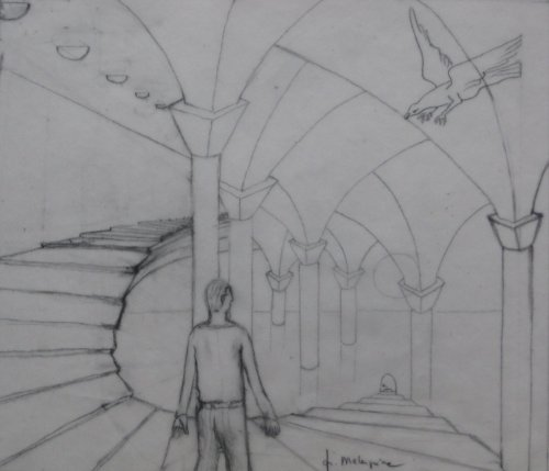 François Malespine dessins préparatoires 1 011