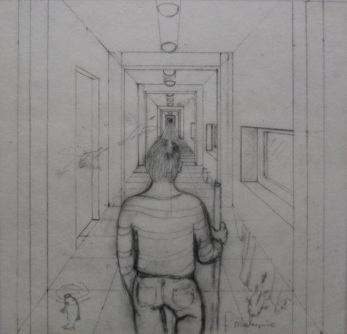 François Malespine dessins préparatoires 1 012