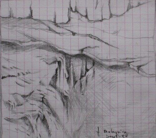 François Malespine dessins préparatoires 1 015