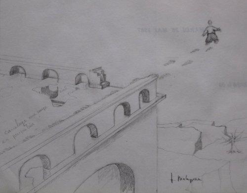 François Malespine dessins préparatoires 1 016
