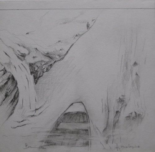 François Malespine dessins préparatoires 1 018