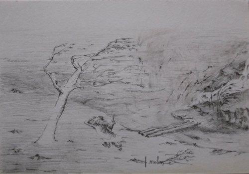 François Malespine dessins préparatoires 1 022