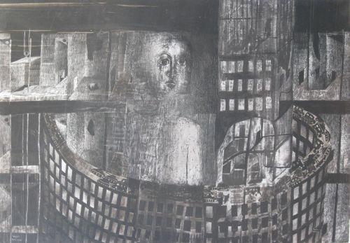 François Malespine Luminy ENCRES DE CHINE 10 (100 cm x 70 cm)
