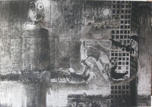 François Malespine Luminy ENCRES DE CHINE 6 (100 cm x 70 cm)