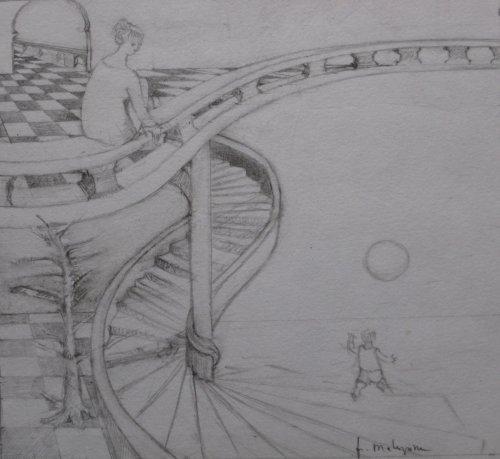 François Malespine dessins préparatoires suite 007