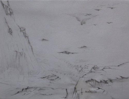 François Malespine dessins préparatoires suite 010