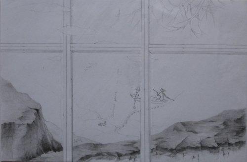 François Malespine dessins préparatoires suite 012