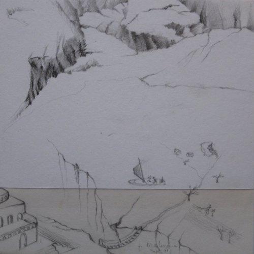François Malespine dessins préparatoires suite 014