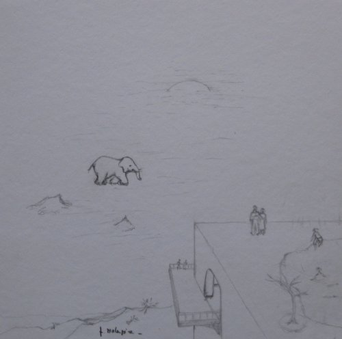 François Malespine dessins préparatoires suite 015