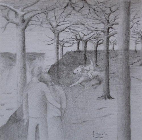 François Malespine dessins préparatoires suite 017