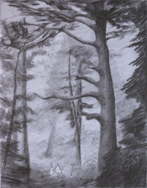 François Malespine dessins préparatoires suite 022