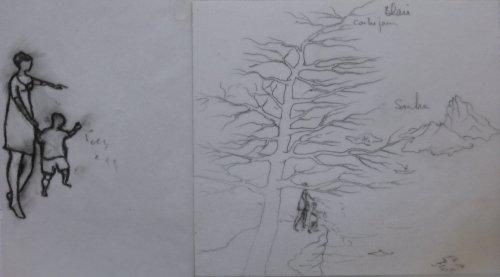 François Malespine dessins préparatoires suite 023