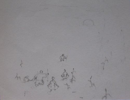 François Malespine dessins préparatoires suite 025