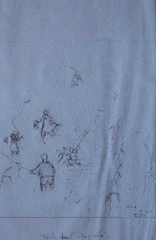 François Malespine dessins préparatoires suite 026