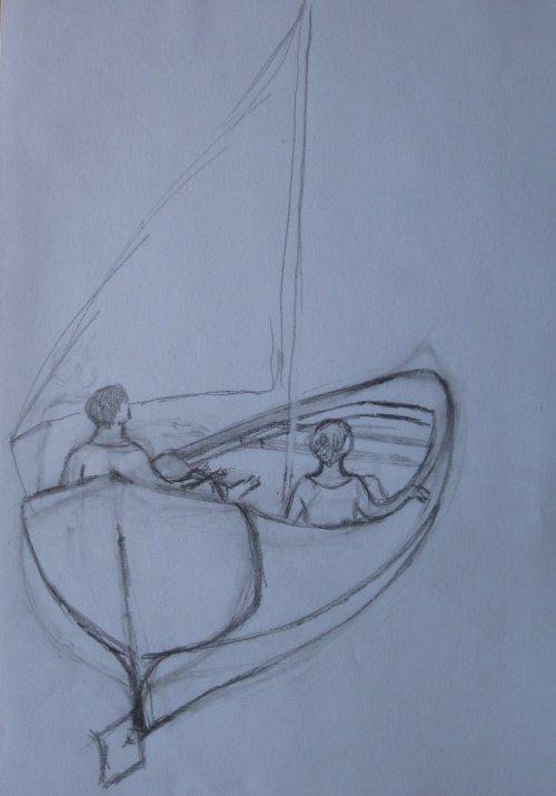François Malespine dessins préparatoires suite 029