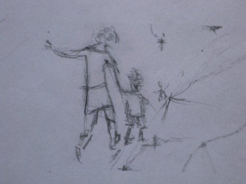 François Malespine dessins préparatoires suite 032