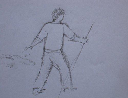 François Malespine dessins préparatoires suite 033