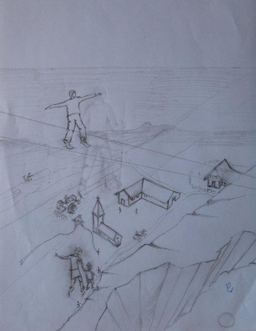 François Malespine dessins préparatoires suite 034