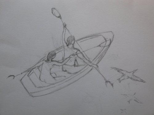 François Malespine dessins préparatoires suite 035