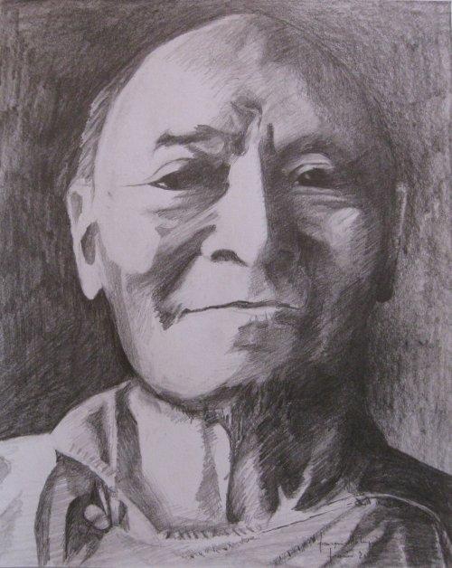 François Malespine Kangyur Rimpoche Février 2012