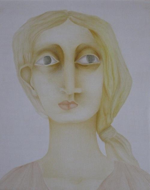 François Malespine - Laque 1981 40cm x 50cm